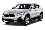 2018 BMW X2 Advantage 5 Door SUV angular front stock photos of front three quarter view