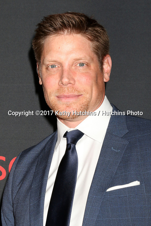 """LOS ANGELES - APR 8:  Brian Letscher at the """"Scandal"""" 100th Show Party at Fig & Olive Resturant on April 8, 2017 in West Hollywood, CA"""