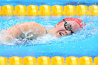 PICTURE BY ALEX BROADWAY /SWPIX.COM - 2012 London Paralympic Games - Day Ten - Swimming, Aquatic Centre, Olympic Park, London, England - 08/09/12 - Ellie Simmonds of Great Britain competes in the Women's 100m Freestyle S6 Heats.
