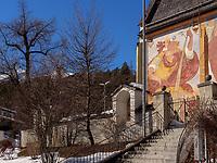 Pfarrkirche von Tarrenz, Gurgltal, Bezirk Imst, Tirol, &Ouml;sterreich, Europa<br /> parish church of Tarrenz, district Imst, Tyrol, Austria, Europe