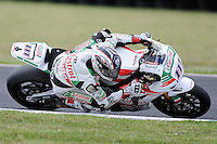 PHILLIP ISLAND, 22 FEBRUARY - Ruben Xaus (ESP) riding the Honda CBR1000RR (111) of the Castrol Honda Team at day two of the testing session prior to round one of the 2011 FIM Superbike World Championship at Phillip Island, Australia. (Photo Sydney Low / syd-low.com)
