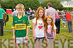 At the Races in Cahersiveen on Sunday were l-r; Donnacha Maher from Duagh, Chloe & Ella Sheehan from Aghatubrid.