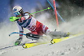 8th February 2019, Are, Sweden; Alpine skiing: Combination, ladies: Ricarda Haaser from Austria on the slalom course.