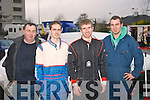 Taking part in the Junior section of the Killarney Historic Stages rally based in the Brehan hotel last Saturday were L-R Brendan Brosnan (service mechanic) John Flaherty (driver) Patrick lawlor (navigator) and Brian Slattery (service mechanic)