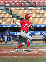 Jose Rodriguez participates in the MLB International Showcase at Estadio Quisqeya on February 22-23, 2017 in Santo Domingo, Dominican Republic.