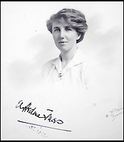 BNPS.co.uk (01202 558833)<br /> Pic:  PeterWilson/BNPS<br /> <br /> George Jones' sister Donie Jones.<br /> <br /> A charming letter which was carried on the first airship to cross the Atlantic has come to light 100 years later.<br /> <br /> Reverend George Jones, who was stationed at the Royal Naval Air Station East Fortune near Edinburgh, wanted to surprise his sister Donie by sending her a letter from America.<br /> <br /> So he gave the letter to one of the crew of airship R34 ahead of the historic flight on July 2, 1919, and asked him to post it to Donie from New York.<br /> <br /> He obliged and the letter reached its final destination in Bournemouth, Dorset, several months later as it made the return journey via ship.