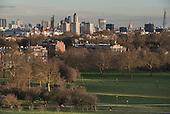 City of London skyline from Primrose Hill, Camden.