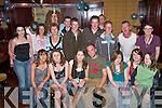 2690-2695.John Paul Kissane, Killarney, celebrates his 21st with his friends in The Manor Inn Hotel, Killorglin, last Saturday night