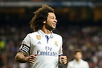 Real Madrid's Marcelo during Copa del Rey match between Real Madrid and Sevilla FC at Santiago Bernabeu Stadium in Madrid, Spain. January 04, 2017. (ALTERPHOTOS/BorjaB.Hojas)