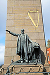 Charles Stewart Parnell monument, O'Connell Street, Dublin city centre, Ireland, Republic of Ireland sculptor Augustus Saint-Gaudens unveiled 1911