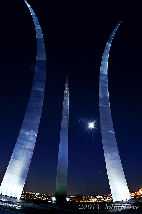 Air Force Memorial - Scenic Shots VA