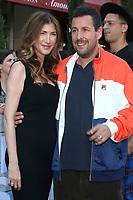 "LOS ANGELES - JUN 10:  Jackie Sandler, Adam Sandler at the ""Murder Mystery"" Premiere at the Village Theater on June 10, 2019 in Westwood, CA"