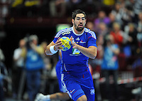 PICTURE BY Dave Winter/SWPIX.COM - Olympics 2012 - Medal hopes for France......Copyright - Simon Wilkinson - 07811267706.....Nikola KARABATIC - Star of defending gold medallists France's Handball team.
