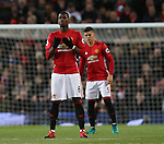 Paul Pogba of Manchester United offers prayers before kick off during the Premier League match at the Old Trafford Stadium, Manchester. Picture date: November 27th, 2016. Pic Simon Bellis/Sportimage