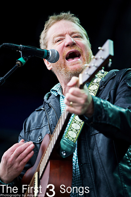 David Lowery of Cracker performs during the The Beale Street Music Festival in Memphis, Tennessee.