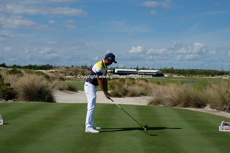 Rickie Fowler during the second round of the 2018 Hero World Challenge being played at The Albany Resort, Bahamas.<br />  Picture Stuart Adams, www.golftourimages.com: \30/11/2018\