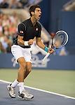 Novak Djokovic (SRB) Defeats Mikhail Youzhny (RUS) 6-3, 6-2, 3-6, 6-0