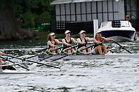 Race: 188 J16 4x Quarter-Final - Hinksey Sculling Sch vs Surbiton HS<br /> <br /> Henley Women's Regatta 2017<br /> <br /> To purchase this photo, or to see pricing information for Prints and Downloads, click the blue 'Add to Cart' button at the top-right of the page.