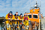 Fenit Lifeboat Station recruit new volunteers Pictured here on Sunday were Kieran Bolt, Crew, Aaron Williams, Crew, Ruth Concannon, Crew, Kevin Moriarty, Cox