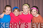 Laura Sullivan, Aisling O'Mahony, Connie Lynch and Niamh Randles who performed at the Killarney Stage School musical 'Encore' in the Malton Hotel, Killarney on Thursday night