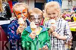 Ciara, David and Megan Ahern, pictured at the Kilflynn Enchanted Fairy Festival on Sunday last.