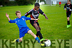 U13 Park V Killarney Athletic  in Action Parks Obina Zeena and Athletic's Josh Coffey at Christy Leahy Park on Saturday