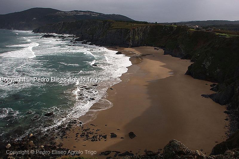 Playa de O Picon en O Barqueiro
