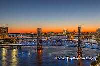 63412-01303 Main Street Bridge St. Johns River, Jacksonville, FL