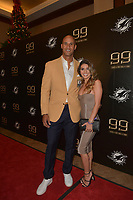 MIAMI GARDENS, FL - DECEMBER 02: Jason Taylor and girlfriend Monica Velasco attend The Miami Dolphins 'Hall of Fame Celebration' hosting Jason Taylor at Hard Rock Stadium on December 02, 2017 in Miami Gardens, Florida. Credit: MPI10 / MediaPunch