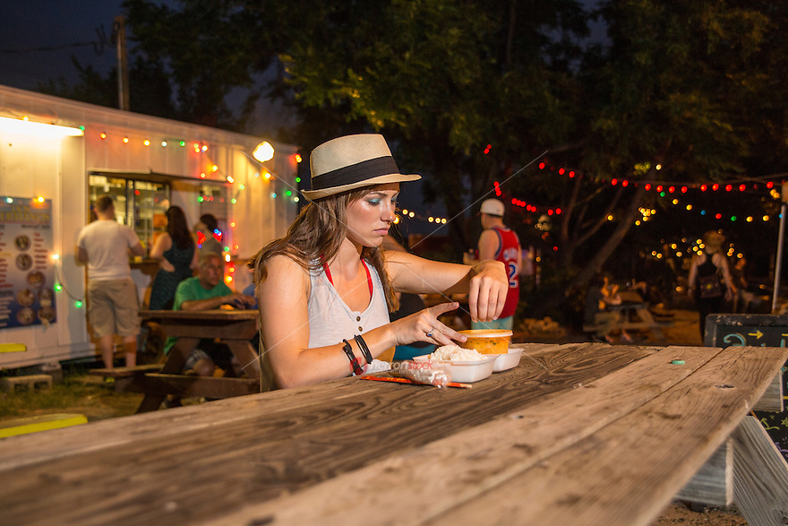 "Austin offers a barrage of iconic food trailers, the ""East Side"" offers more than 100 classic food trailers, housing everything from original classics to up and coming street food chefs."