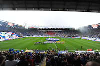 VOETBAL: HEERENVEEN: Abe Lenstra Stadion 19-10-2014, SC Heerenveen - SC Cambuur uitslag 2-2, ©foto Martin de Jong