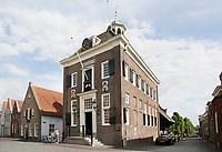 Nederland  Nieuwpoort 2017.  Het oude Stadhuis van Nieuwpoort, Zuid-Holland. In het Stadhuis is tegenwoordig een museum gevestigd.   Foto Berlinda van Dam / Hollandse Hoogte