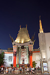 Grauman's Chinese Theatre in Hollywood, Los Angeles, CA