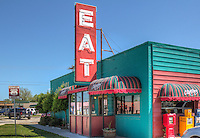 "Clanton's Cafe has been in operation by the Clanton family in Vinita Oklahoma on Route 66 since 1927.  The cafe was featured on the Food Network  ""Diners, Drive-Ins and Dives."" for thier Chicken Fried Steak and ""Calf Fries""."