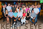 Pat Dowd Firies seated centre who celebrated his 30th birthday with his family and friends in Pat Sheahan's bar Firies on friday night