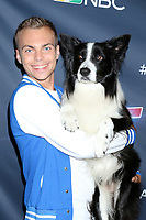 """LOS ANGELES - AUG 27:  Lukas and Falco at the """"America's Got Talent"""" Season 14 Live Show Red Carpet at the Dolby Theater on August 27, 2019 in Los Angeles, CA"""