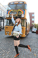 "NO FEE. 20/10/2010. Vintage CIE Double Decker Bus Makes One Last Stop . Beautiful 'conductor' Jane Kendlin is pictured in full conductor's uniform to mark the launch of two new books on CIE Buses in the 1970's and 1980's, a vintage CIE double decker bus, outside the Mansion House on Dawson Street, Dublin.he coffee table books have been published by PRC Publications, a new transport publications company based in Dublin, and feature a miscellany of photographs of Irish buses and street scenes in both rural and urban locations, taken by Ed O'Neill from mid 1970 to mid 1980. A self-confessed ""bus nut"", O'Neill has compiled the two books which will appeal to both enthusiasts and the general public alike. Urban street scenes, including traffic on Dublin's Grafton Street, will remind readers of a time long gone when traffic regulations were far more relaxed and beautiful buildings stood tall, many of which are sadly no longer in existence. The books, 'CIE Buses in the 1970s and 80s - Double Deckers' and 'CIE Buses in the 1970s and 80s - Single Deckers' are priced at EUR25.00 per book (or both books for EUR45.00) and are available from Mark's Models branches or online at www.prcpublications.com. Picture James Horan/Collins Photos"