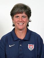 USA Women's National Team head coach, April Heinrichs.