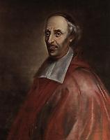 Mgr François de Montmorency-Laval, premier eveque de Québec.<br /> <br /> Saint François de Montmorency-Laval, connu dans l'histoire de la Nouvelle-France comme M?? de Laval, né le 30 avril 1623 à Montigny-sur-Avre et mort le 6 mai 1708 à Québec, est le premier évêque et le fondateur du séminaire de cette ville