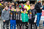 At The Ras Mumhan Cycle Race in Killorglin on Monday  were Killarney Cycling club team Callum Murphy, Ethan Hewerdine, Brayden Slattery, Ivan Dwyer and Josh Hewerdine