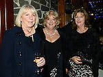 June McCreanor, Bernie Courtney and Theresa Giggins pictured at the Ardee Traders awards night in Darver Castle. Photo:Colin Bell/pressphotos.ie