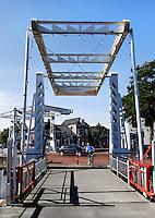 Bruggen in Meppel. Rechts de Prinsenbrug