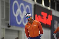 SPEEDSKATING: SALT LAKE CITY: 07-12-2017, Utah Olympic Oval, training ISU World Cup, Daidai Ntab (NED), ©photo Martin de Jong