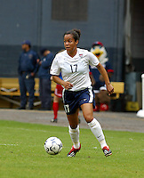 Danielle Slaton, USWNT vs Canada April 26, 2003.