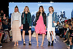 (L to R) Sofia Richie, Lottie Moss, Kenya Kinski Jones and Sarah Snyder, walk down the runway during the Samantha Millennial Stars promotional event on April 27, 2017, Tokyo, Japan. The Japanese fashion and accessories brand is launching a new television commercial directed by Terry Richardson that features the five millennial models. (Photo by Rodrigo Reyes Marin/AFLO)
