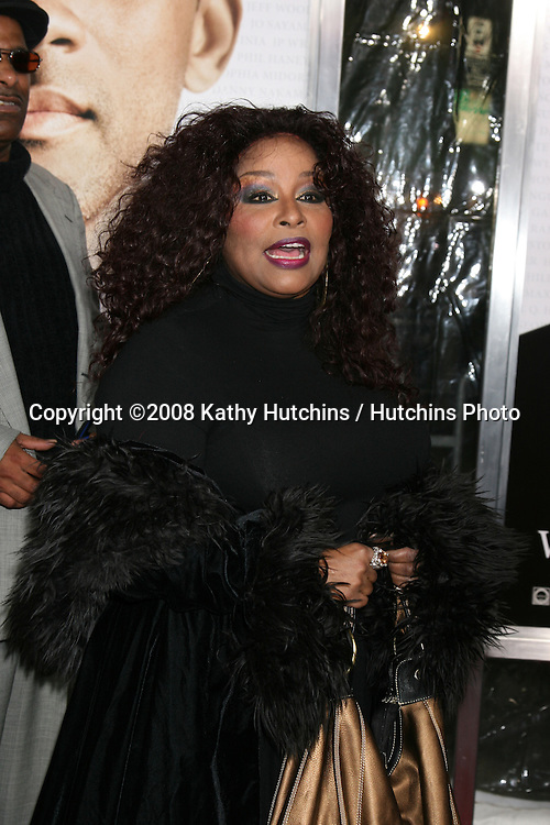 "Chaka Kahn  arriving at the Premiere of ""Seven Pounds"" at the Mann's Village Theater in Westwood, CA on December 15, 2008.©2008 Kathy Hutchins / Hutchins Photo..                ."