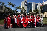 Feb. 7, 2020. Vista. CA. |TCMC Go Red group photo. | Photos by Jamie Scott Lytle. Copyright.