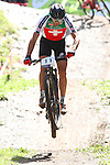 05.09.2015 La Massana Andorra. 201 UCI Mountain Bike World Champions.Picture show Naef Ralph (SUI) in action during Men ELite Cross-country Olympic World Champions