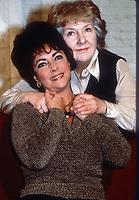 Elizabeth Taylor and Maureen Stapleton 1981<br /> Credit:Adam Scull/PHOTOlink /MediaPunch