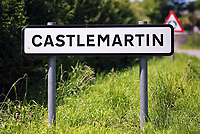 Thursday 15 June 2017<br />Pictured: A sign to Castlemartin village.<br />Re: A soldier has been killed and three others injured after an incident involving a tank at a Ministry of Defence base in Pembrokeshire.<br />The soldier, from the Royal Tank Regiment, died in the incident at Castlemartin Range.<br />Two people were taken to Morriston Hospital in Swansea, while another casualty remains in Cardiff's University Hospital of Wales.<br />An investigation is under way.<br />Live firing was scheduled to take place at the range between Monday and Friday.<br />In May 2012, Ranger Michael Maguire died during a live firing exercise at the training base. An inquest later found he was unlawfully killed.